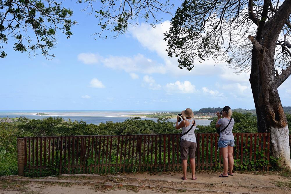 Tolle Aussichten bietet das Dorf Vila Velha - Foto: Wolfgang Besche ©