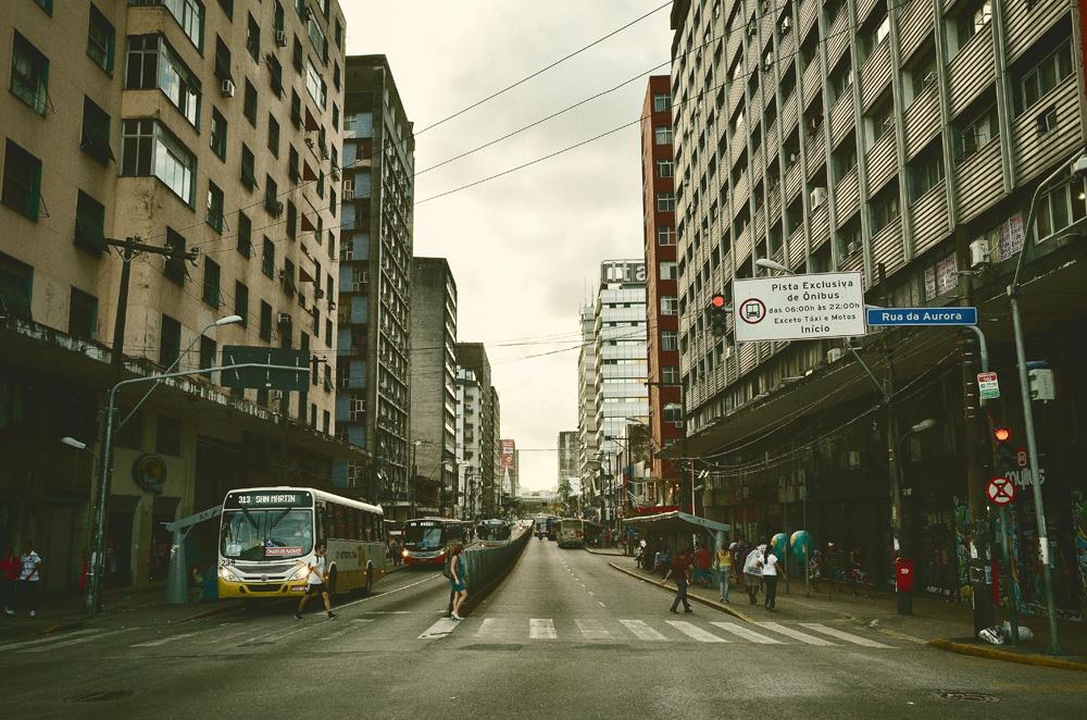 Stadtviertel Boa Vista, Zentrum Recife Foto: Wolfgang Besche ©