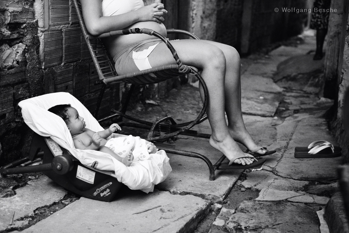In der Comunidade Bode (Recife) Foto: Wolfgang Besche ©