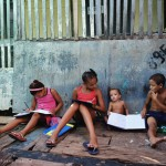 Kinder in der Comunidade Bode (Recife) Foto: Wolfgang Besche ©