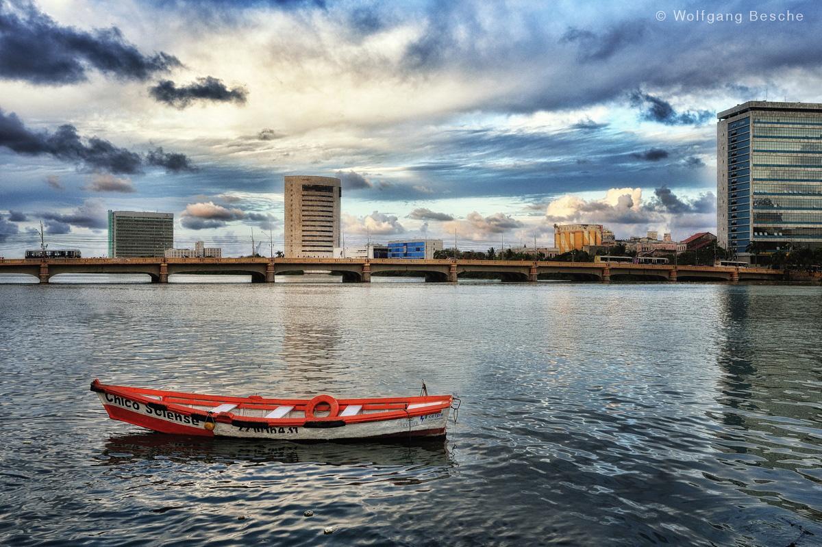 In der Innenstadt von Recife. Foto: Wolfgang Besche ©