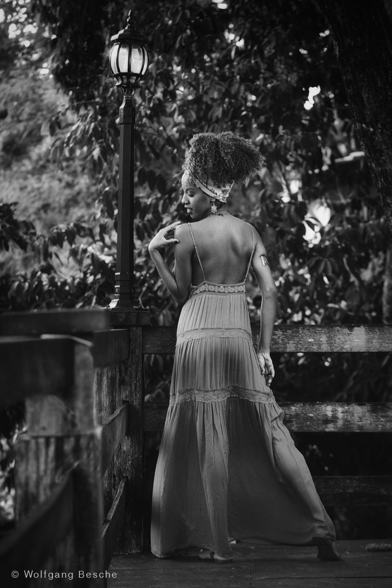 Model-Outdoor-Shooting. Foto: Wolfgang Besche ©